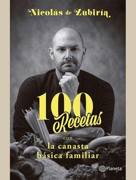 portada 100 Recetas con la canasta básica familiar