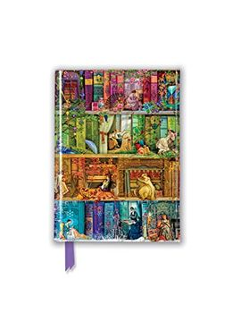 portada Aimee Stewart: A Stitch in Time Bookshelf (Foiled Pocket Journal) (Flame Tree Pocket Books) (libro en Inglés)