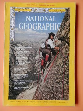 portada National Geographic. Vol. 145, No. 6. June 1974
