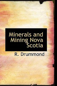 portada minerals and mining nova scotia