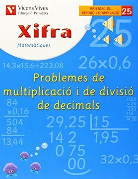 portada Xifra Q-25 Prob. Mult. Divisio Deci