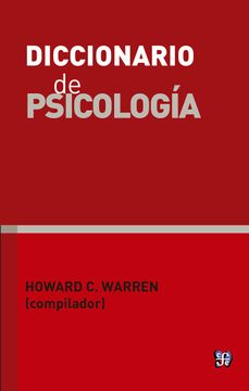 portada Diccionario de Psicología