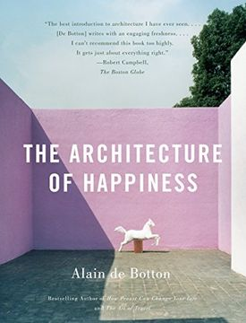 portada The Architecture of Happiness (libro en Inglés)