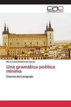 portada Una gramática poética mínima