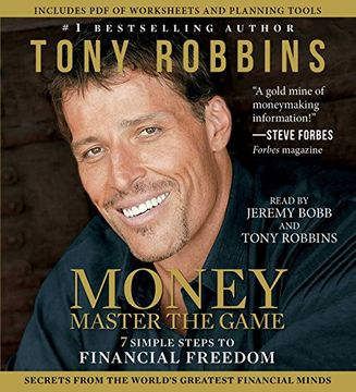 portada MONEY Master the Game: 7 Simple Steps to Financial Freedom