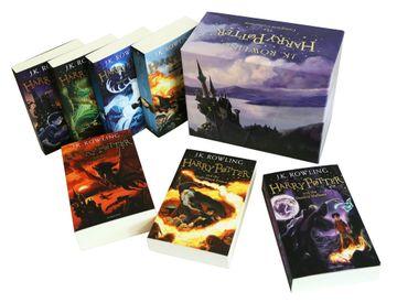 portada Harry Potter box Set: The Complete Collection (libro en Inglés)