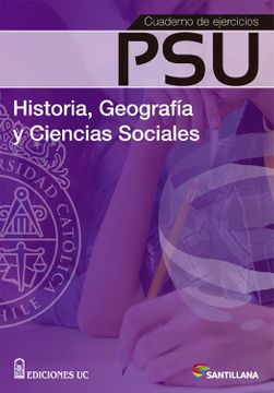 portada Cuaderno de Ejercicios psu Historia (2015) Santillana