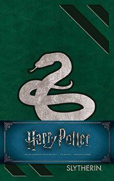 portada Harry Potter: Slytherin Hardcover Ruled Journal (libro en Inglés)