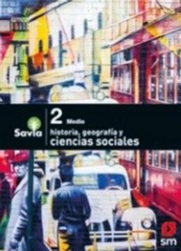 portada Ciencias Sociales 2º Medio (Proyecto Savia) (Sm)