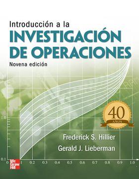 portada Introduccion a la Investigacion de Operaciones