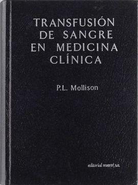 portada Transfusión de Sangre en Medicina Clínica