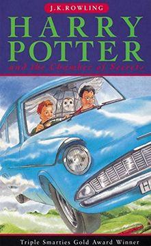 portada Harry Potter and the Chamber of Secrets (libro en Inglés)