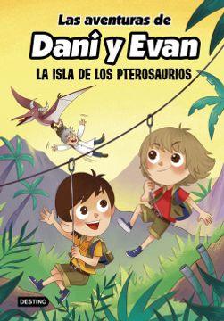 portada Las Aventuras de Dani y Evan la Isla de los Pterosaurios