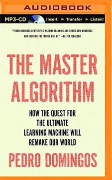 portada Master Algorithm             m (libro en Inglés)