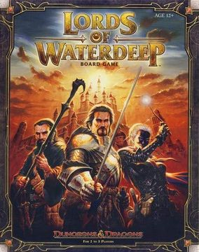 portada Lords of Waterdeep: A Dungeons & Dragons Board Game