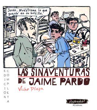 portada Las Sinaventuras de Jaime Pardo