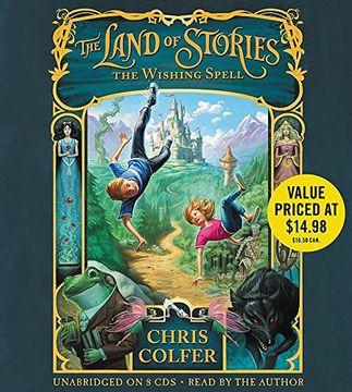 portada The Land of Stories: The Wishing Spell: Book 1 (libro en Inglés) (Audiolibro)