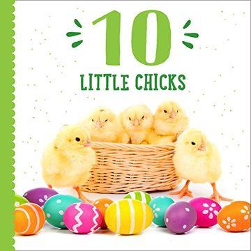 portada 10 Little Chicks (libro en inglés)