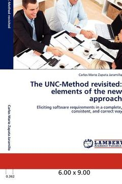 portada the unc-method revisited: elements of the new approach