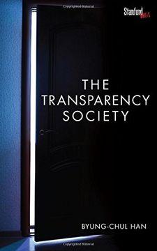 portada The Transparency Society (libro en inglés)