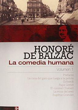 portada La Comedia Humana Volumen 1