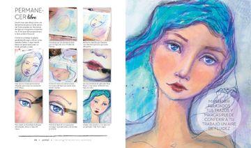 portada Dibujar y Pintar Rostros Hermosos