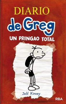 portada Diario de Greg 1: Un Pringao Total