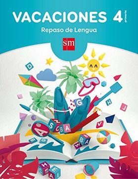 portada Vacaciones: Repaso De Lengua. 4 Educación Primaria