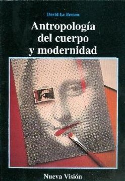 portada Antropologia del Cuerpo y Modernidad