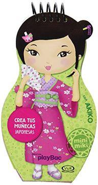 portada Crea tus muñecas japonesas : con Akiko