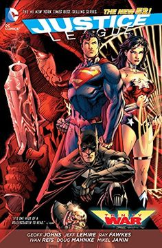 portada Justice League: Trinity war tp (The new 52) (libro en Inglés)
