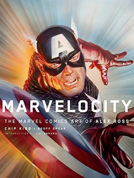 portada Marvelocity: The Marvel Comics art of Alex Ross (Pantheon Graphic Library) (libro en Inglés)