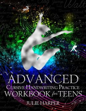 portada Advanced Cursive Handwriting Practice Workbook for Teens