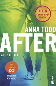 portada After. Antes de Ella (Serie After) (Bestseller)