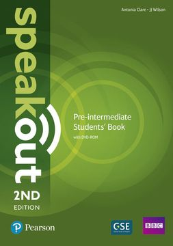 portada Speakout Pre-Intermediate 2nd Edition Students' Book and Dvd-Rom Pack (libro en Inglés)
