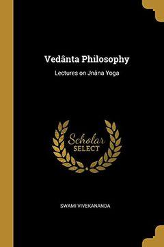 portada Vedanta Philosophy (libro en Inglés)