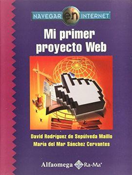 portada Mi Primer Proyecto Web: Navegar en Internet. Rodrigue