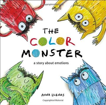 portada The Color Monster: A Story About Emotions (libro en Inglés)