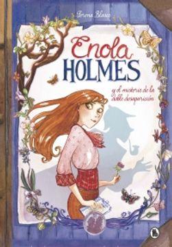 portada Enola Holmes y el misterio de la doble desaparición
