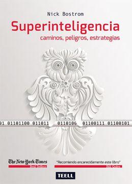 portada Superinteligencia: Caminos, Peligros, Estrategias