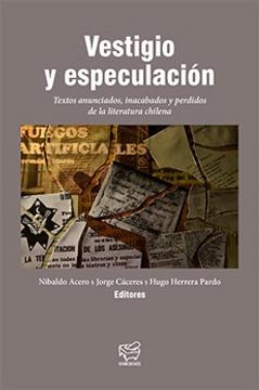 portada Vestigio y Especulacion