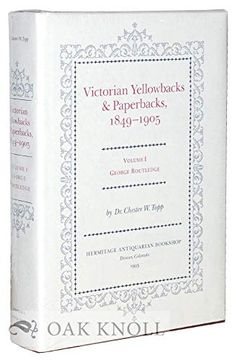 portada Victorian Yellowbacks & Paperbacks, 1849-1905: George Routledge (libro en Inglés)