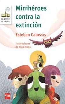 portada Minihéroes Contra la Extinción