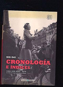 portada Cronología e índices