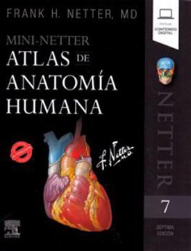 portada Mini Netter Atlas de Anatomia Humana (Incluye Contenido Digital)
