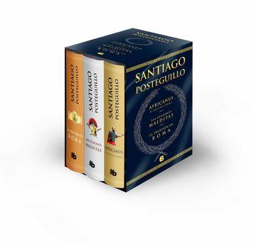 portada Trilogía Africanus: Estuche Con: El Hijo del Consul | las Legiones Malditas | la Traición de Roma