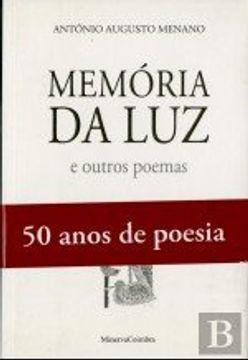 portada Memória da Luz (Antologia Poética)