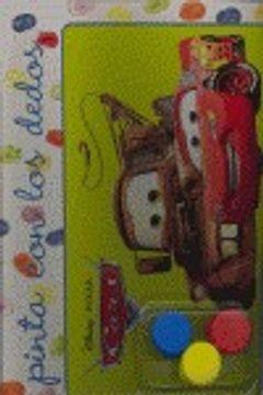 portada Cars. pinta con los dedos (Planeta Junior)