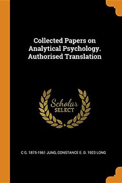 portada Collected Papers on Analytical Psychology. Authorised Translation (libro en inglés)