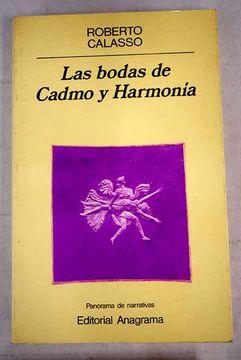 portada Las bodas de Cadmo y Harmonia